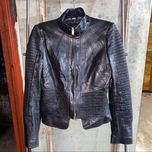 Gucci Black Quilted Leather Jacket